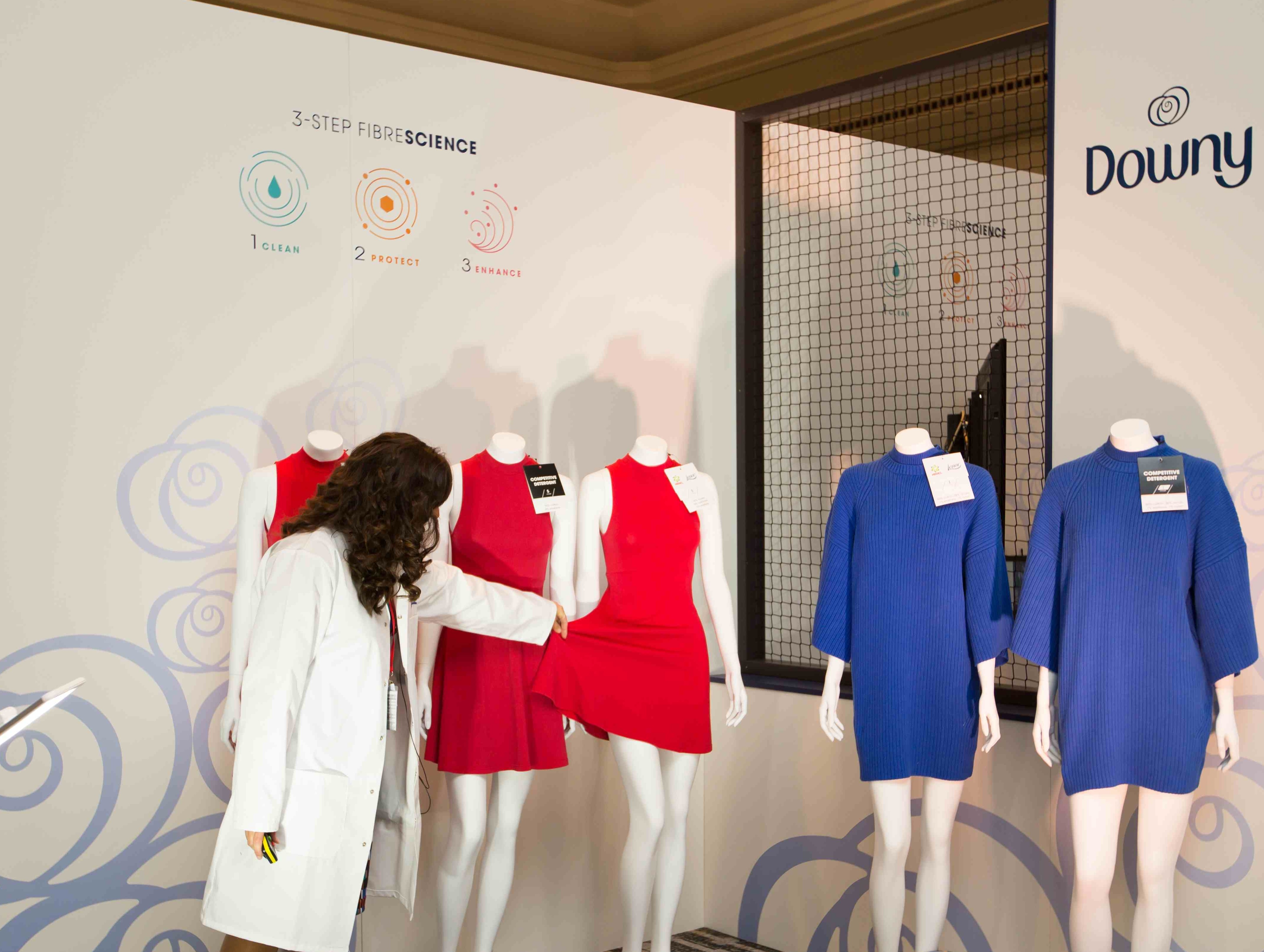 P&G Future fabrics 2015 Lenor Downy room
