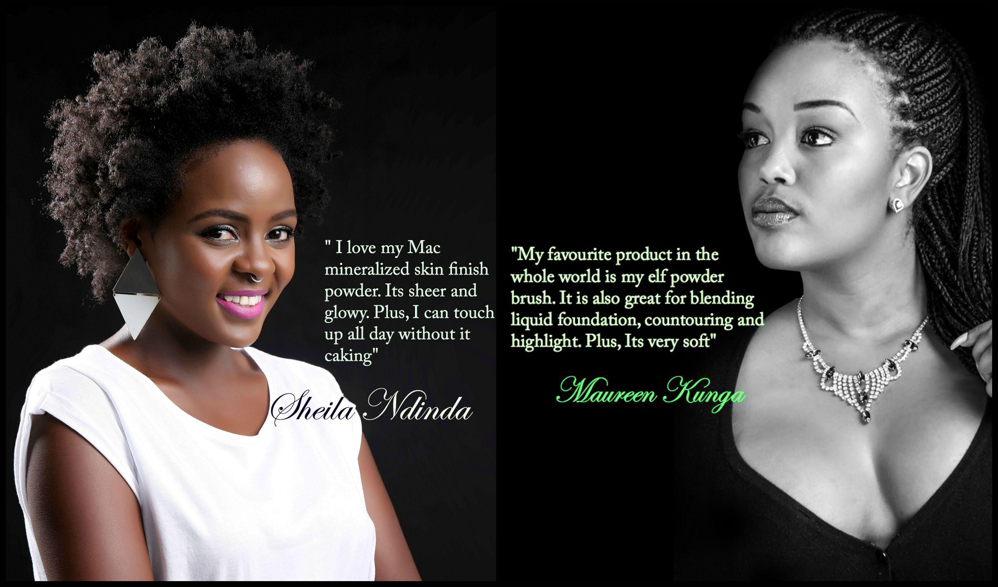 Sheila Ndinda , Maureen Kunga
