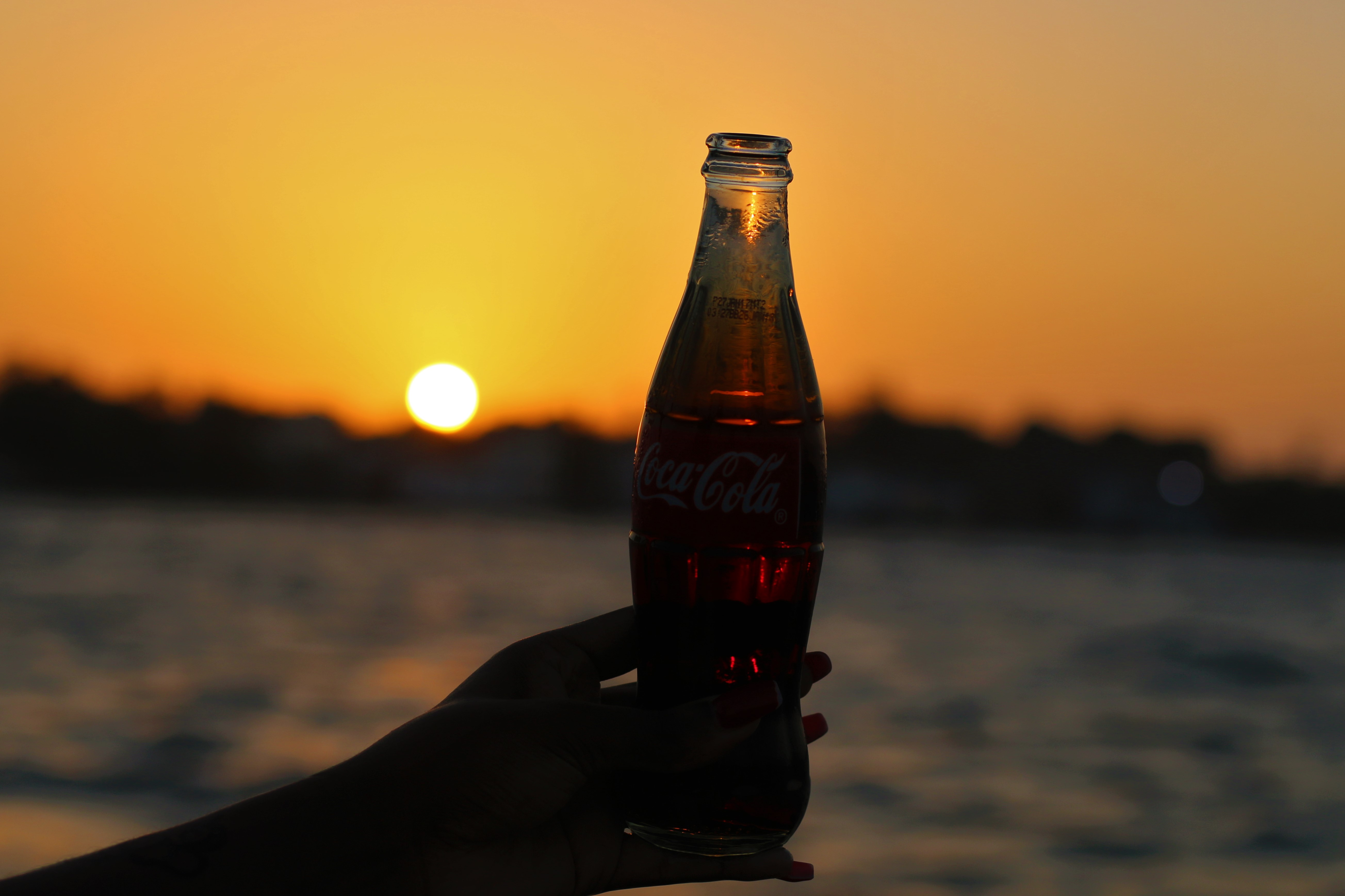 cocacola sunset
