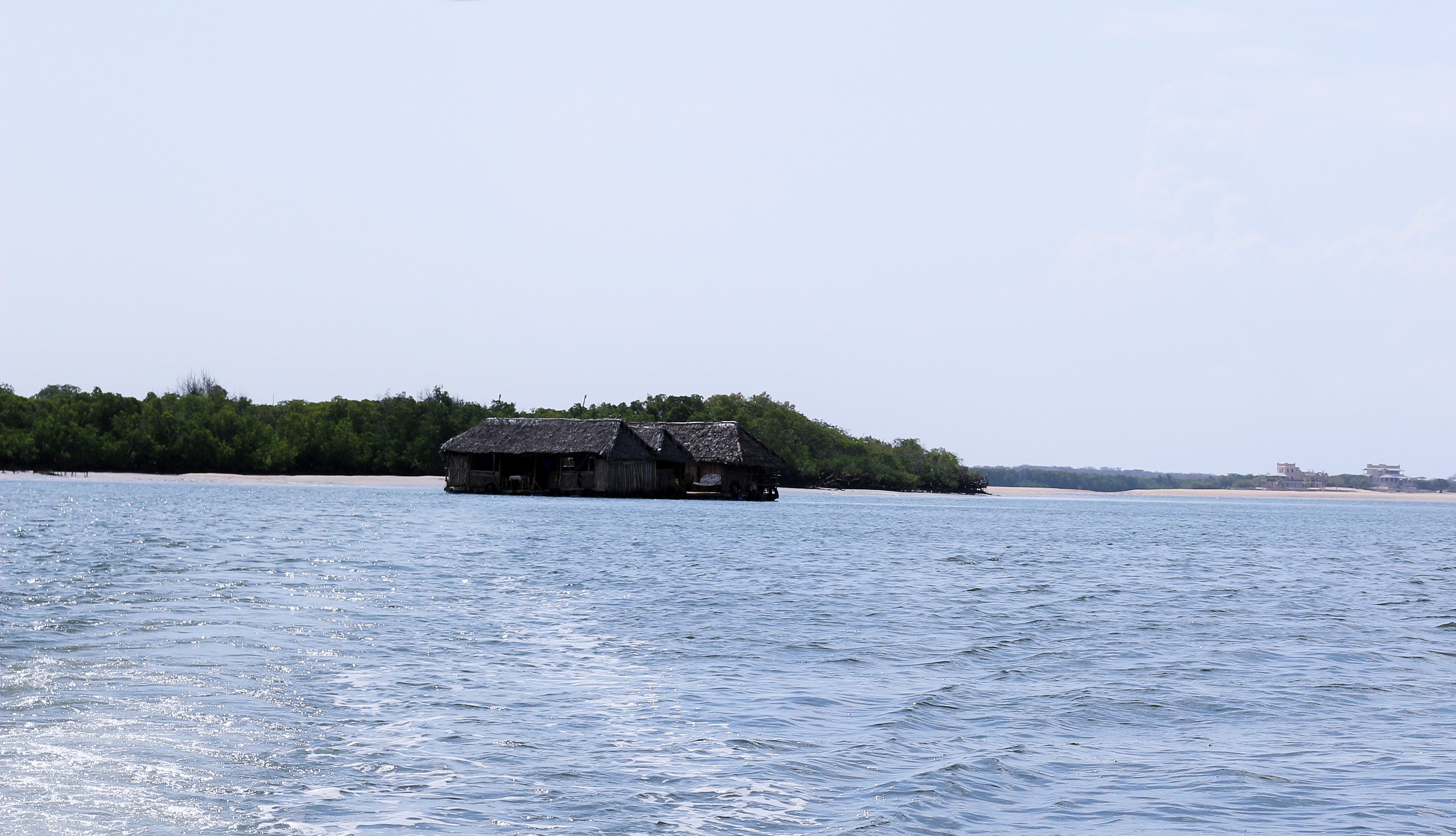 floating bar in lamu
