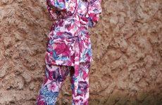 floral pajama pant set