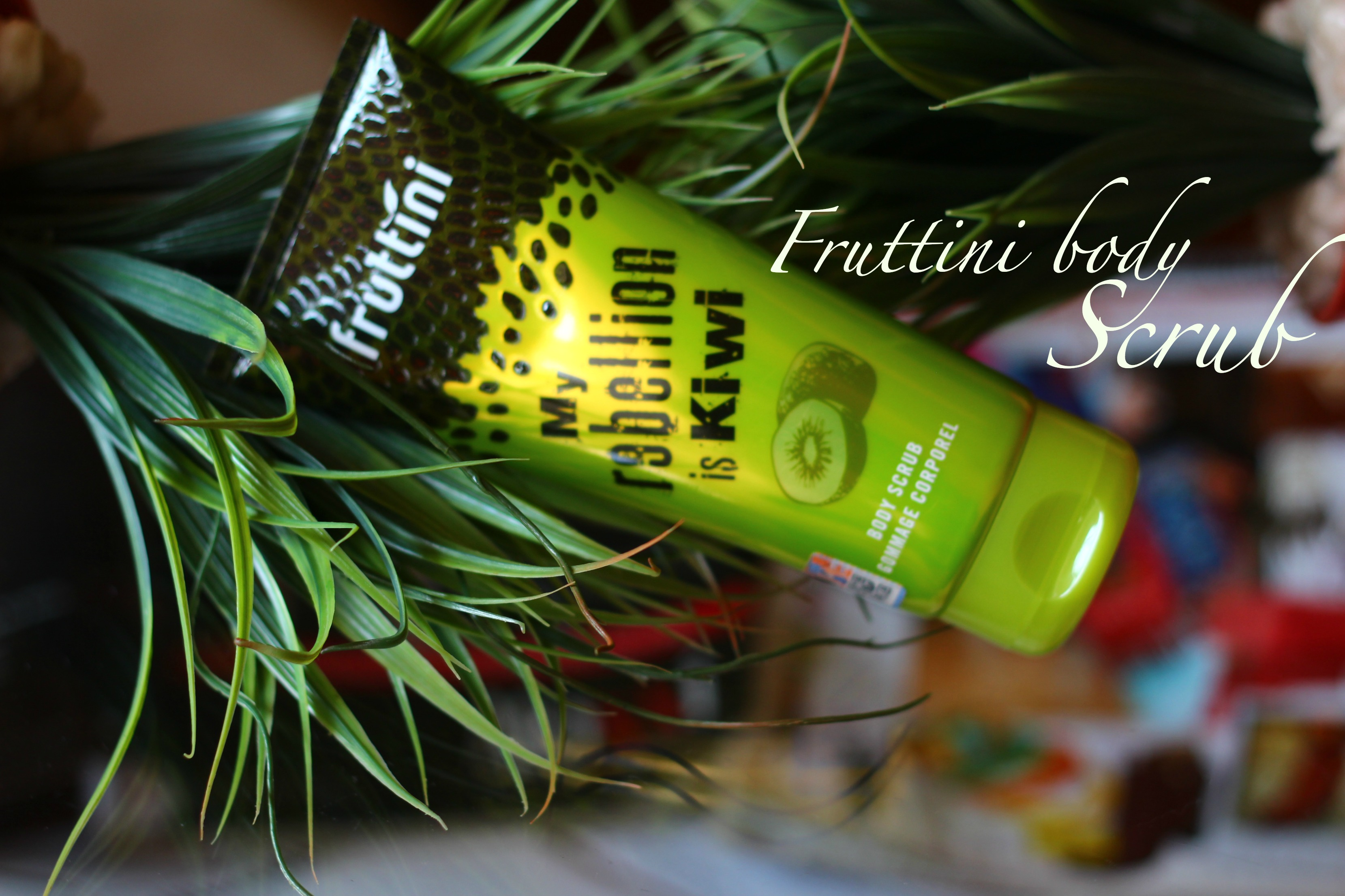 fruttini body scrub