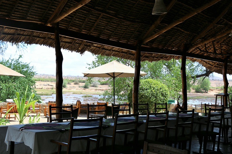 galana crocodile camp restaurant