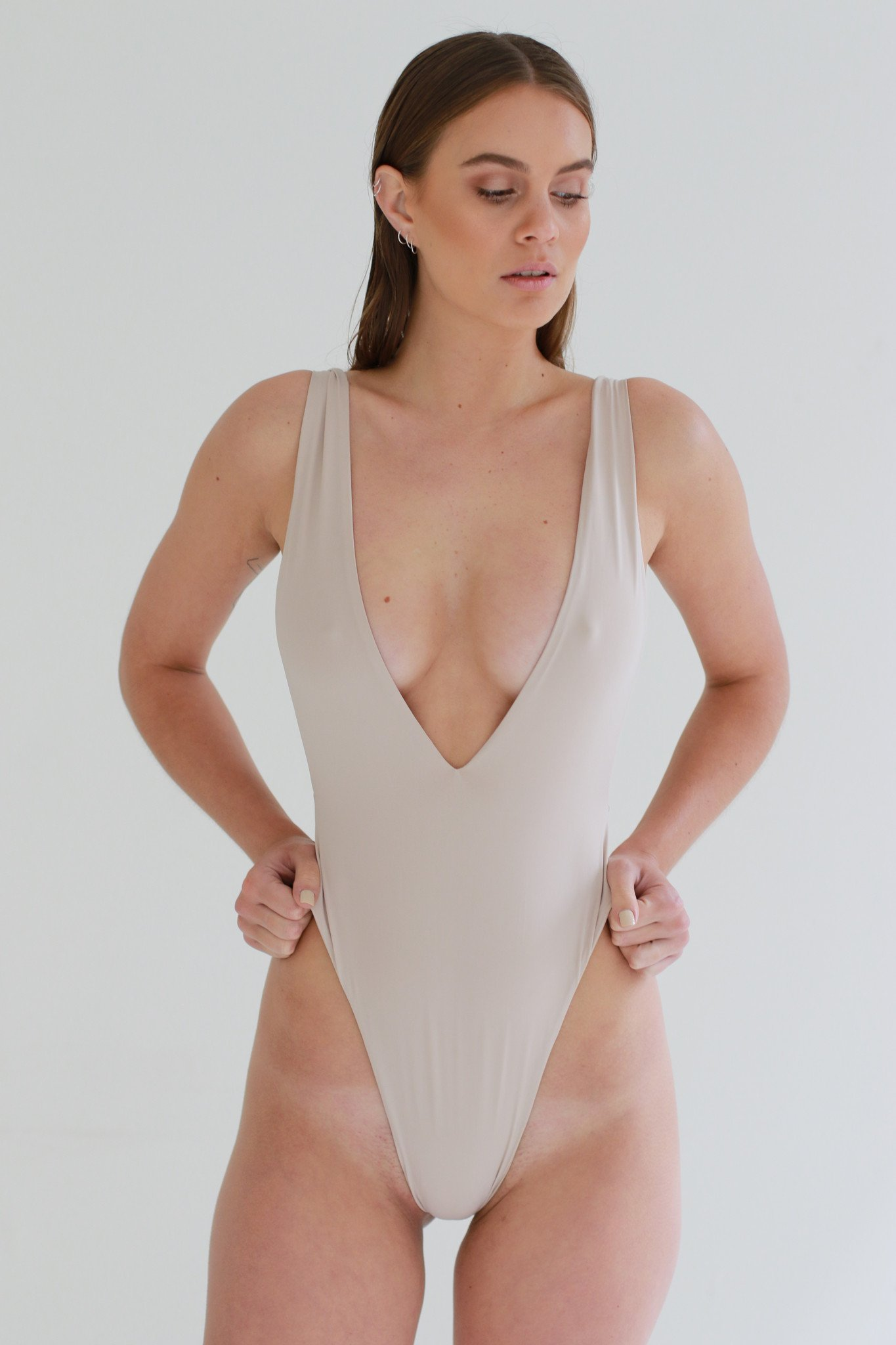 nude swimsuit