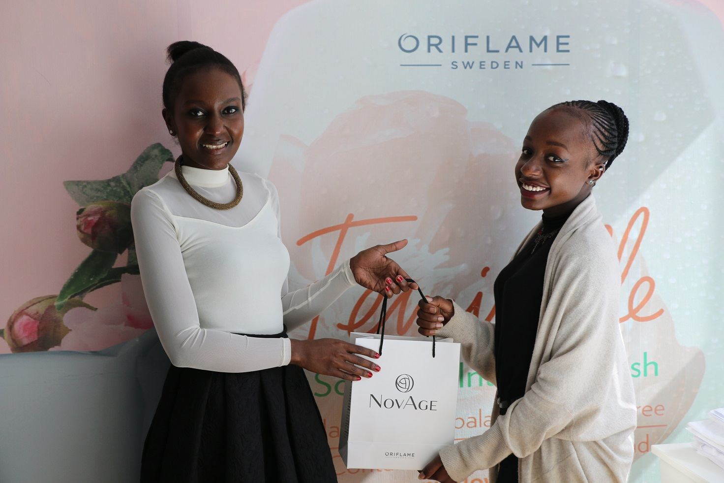 oriflame kenya skin care test kit