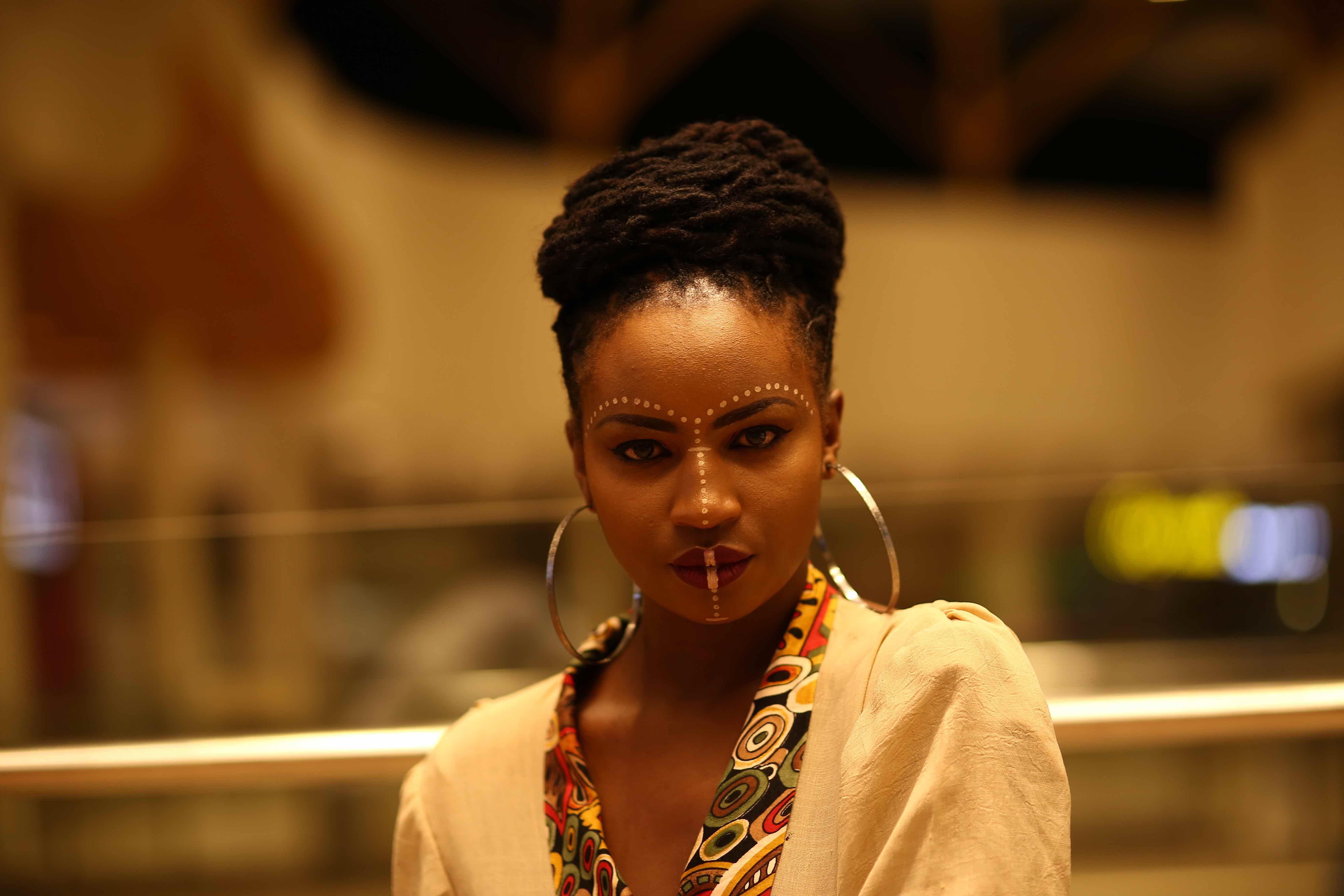 silvia njoki-mac-makeup-kenya-tribal party30
