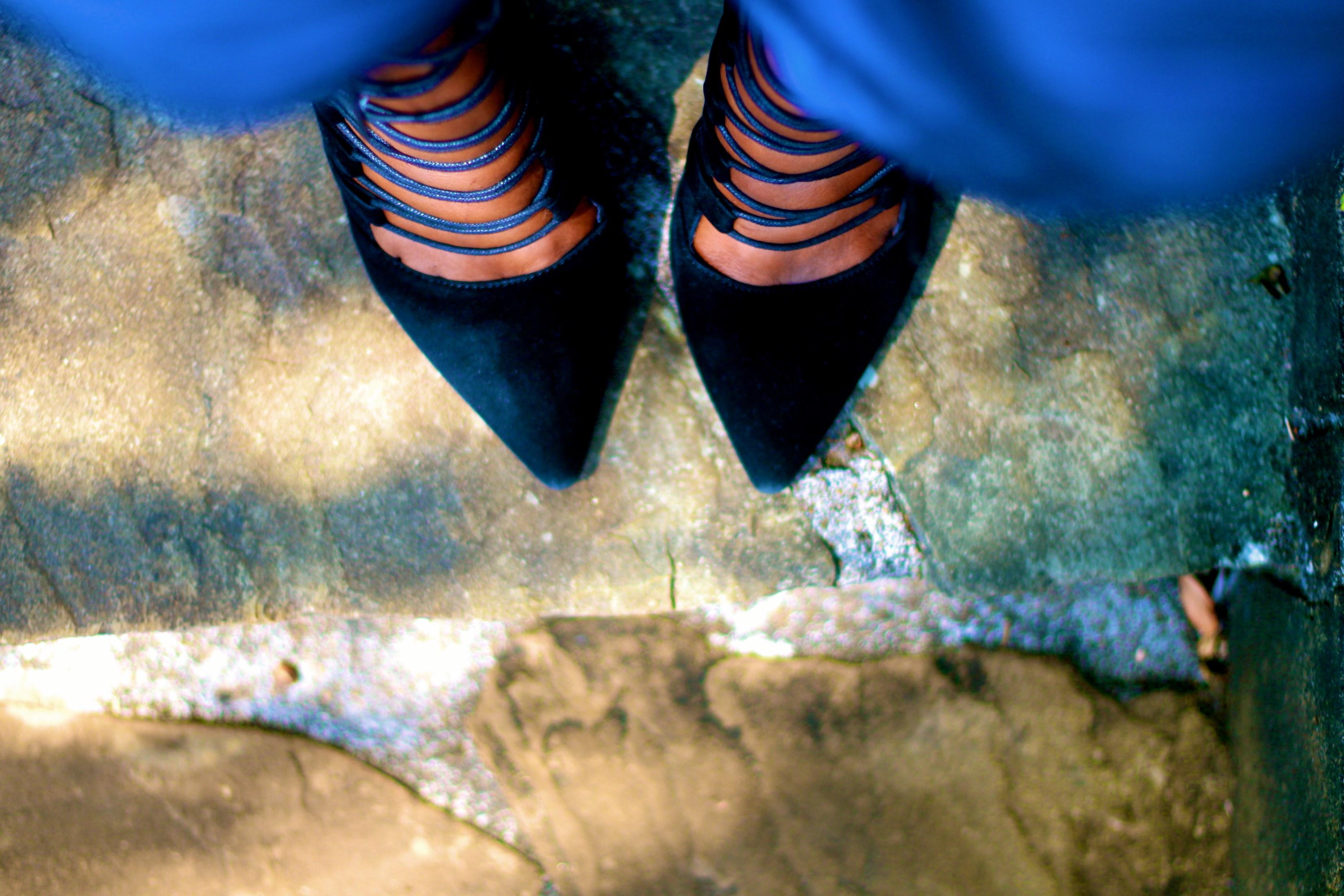 silvia njoki strappy heels